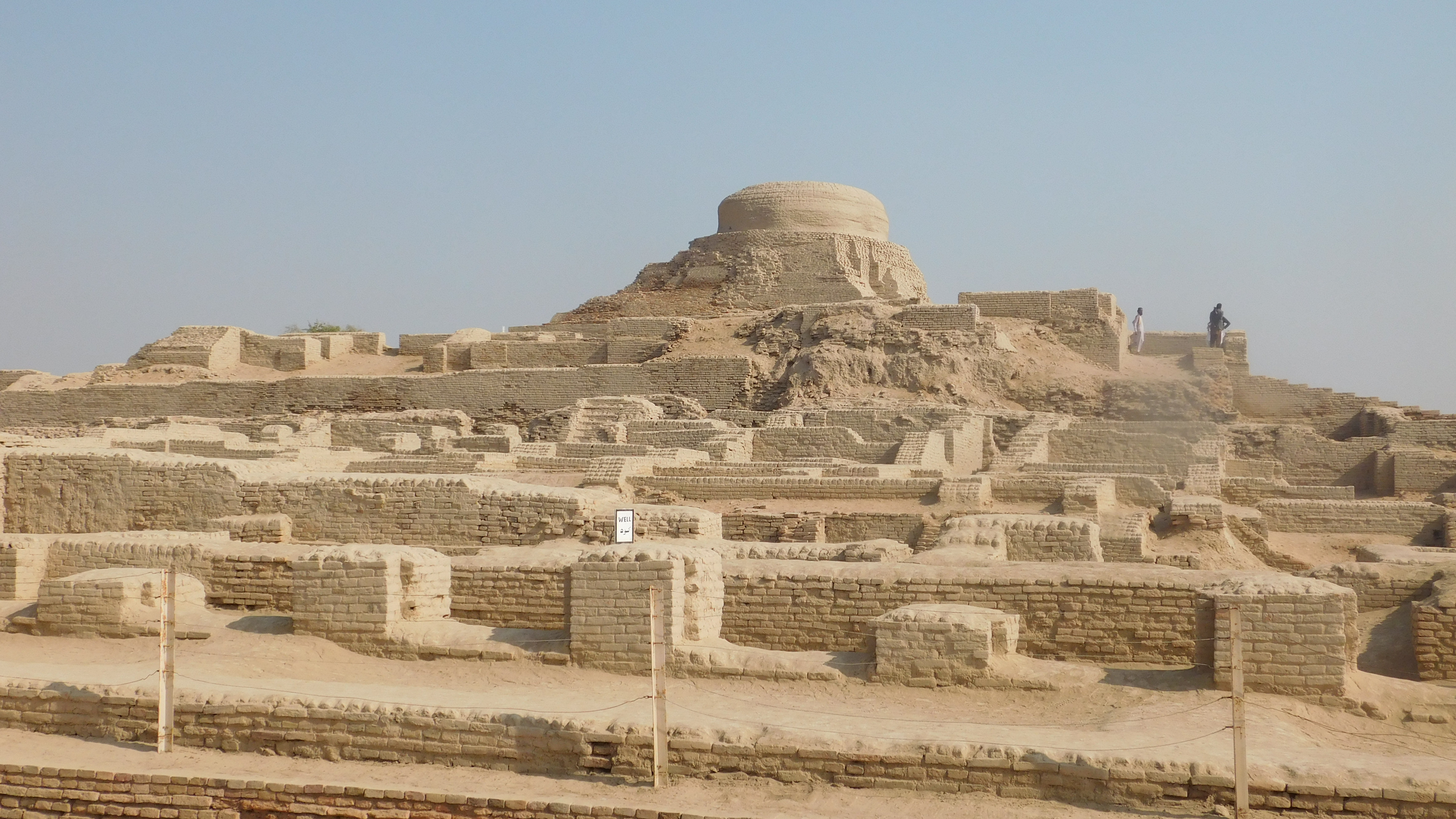 Mohen-jo-Daro is a world hertiage site in Sindh Pakistan. It is the hub of Indus valley civilizatioin which is 4500 yeas old civilization