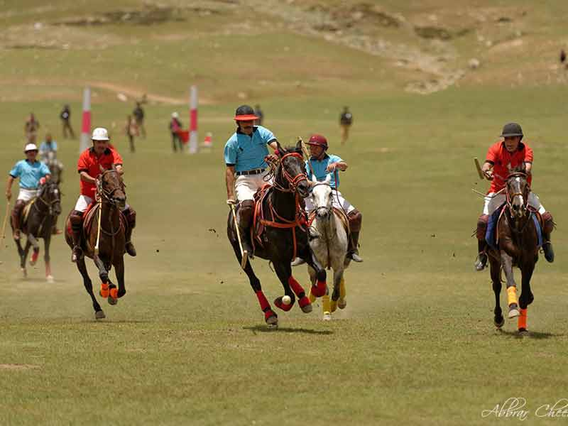 Shandur Polo Festival Chitral Pakistan. This image is of the Shandur polo ground in Chitral